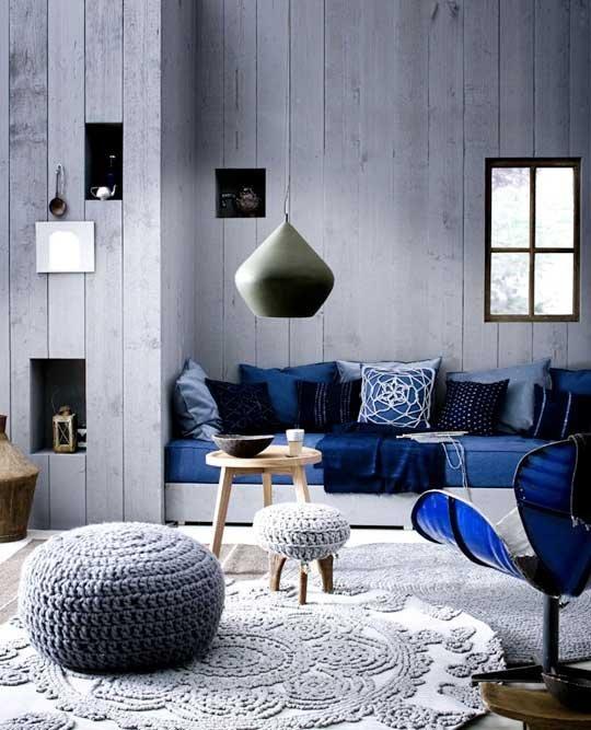 Blue room knit